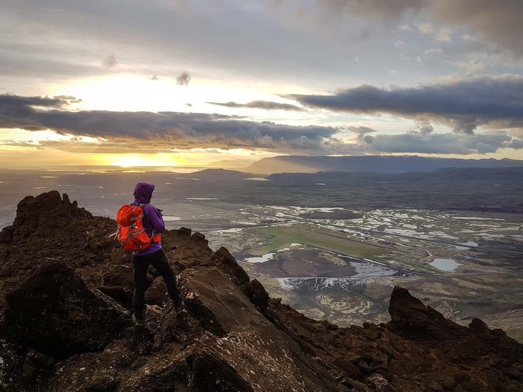 Izland időjárása: túrázás májusban