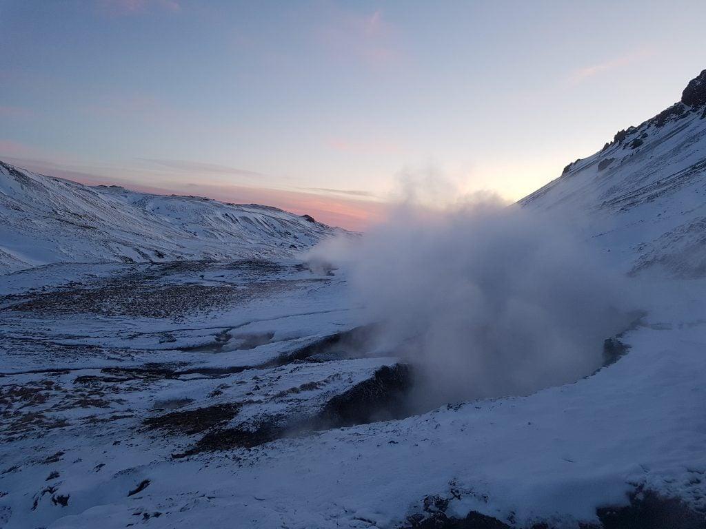 Reykjadalur túra a meleg vizű folyóhoz