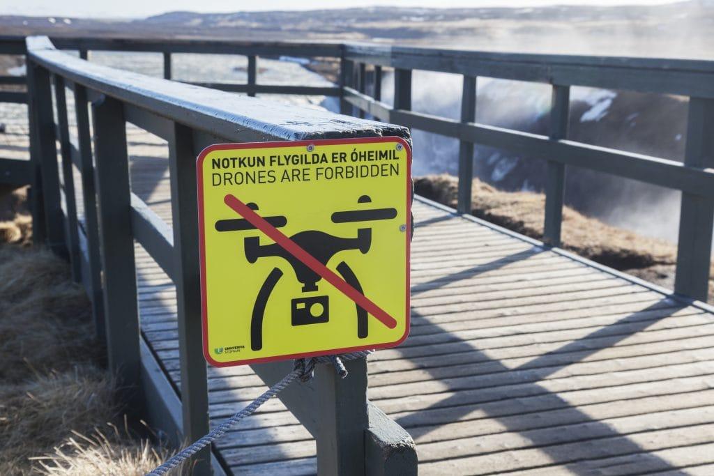 drónozás Izlandon