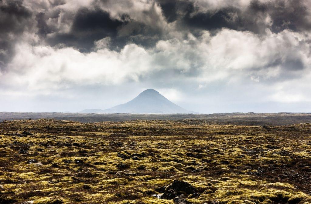 Izland - Keilir vulkán a Reykjanes-félszigeten