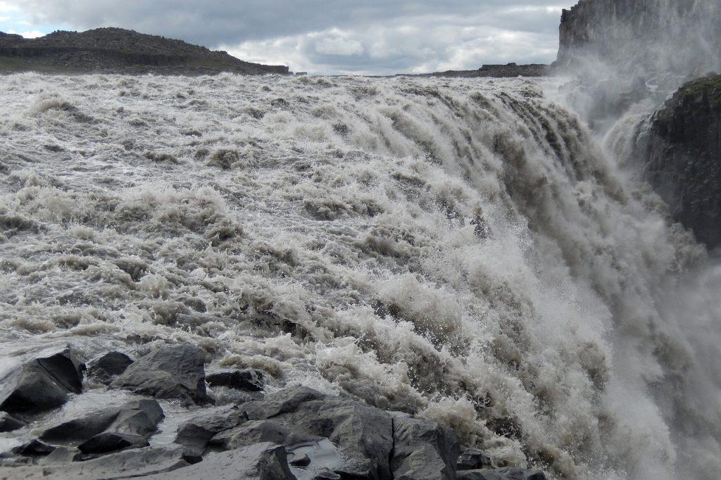 Dettifoss vízesés Izland