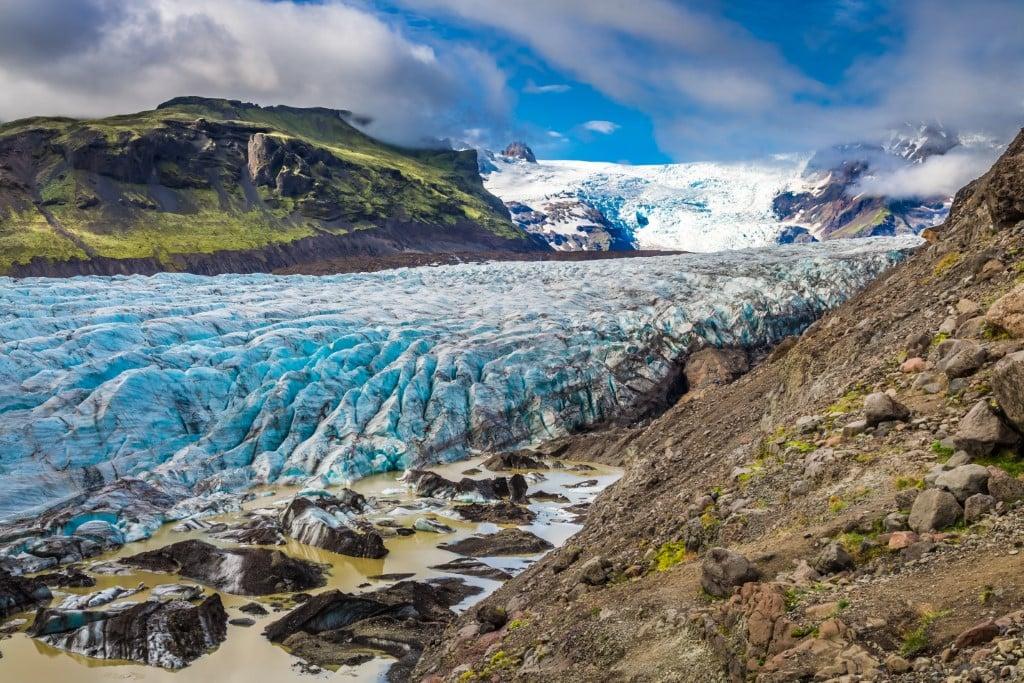 Dél Izland látnivalók - Skaftafell