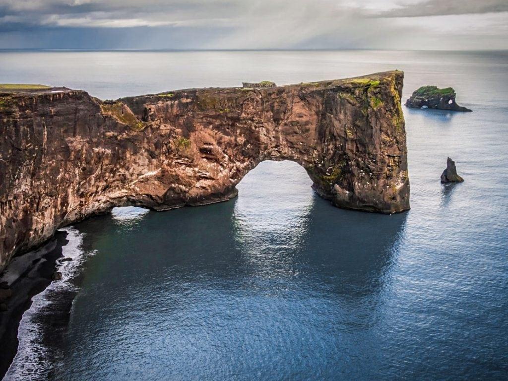 Dél Izland látnivalók - Dyrholaey