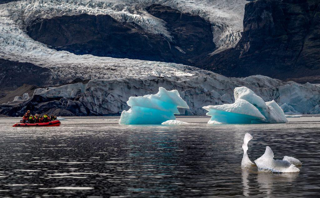 Dél Izland látnivalók - Fjallsárlón gleccserlagúna
