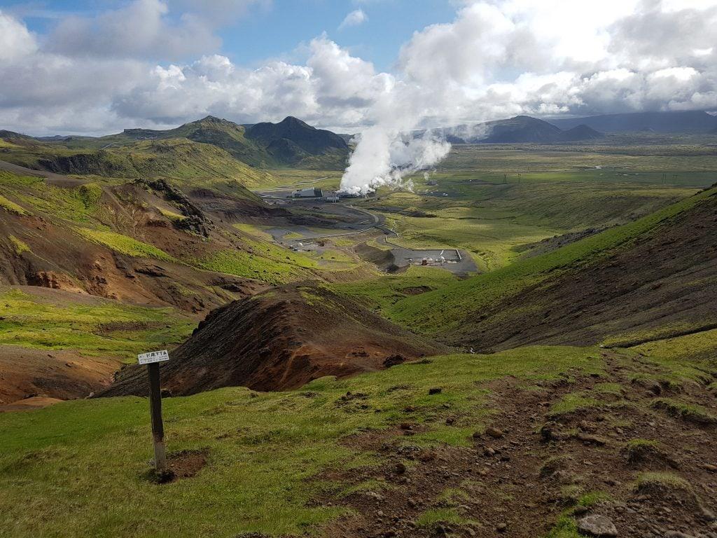 Dél Izland látnivalók - Hellisheidi Geotermikus Erőmű