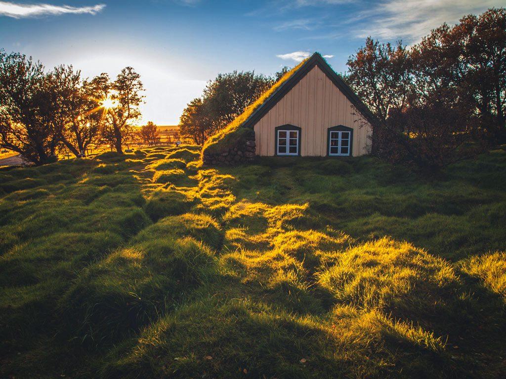 Dél Izland látnivalók - Hofskirkja