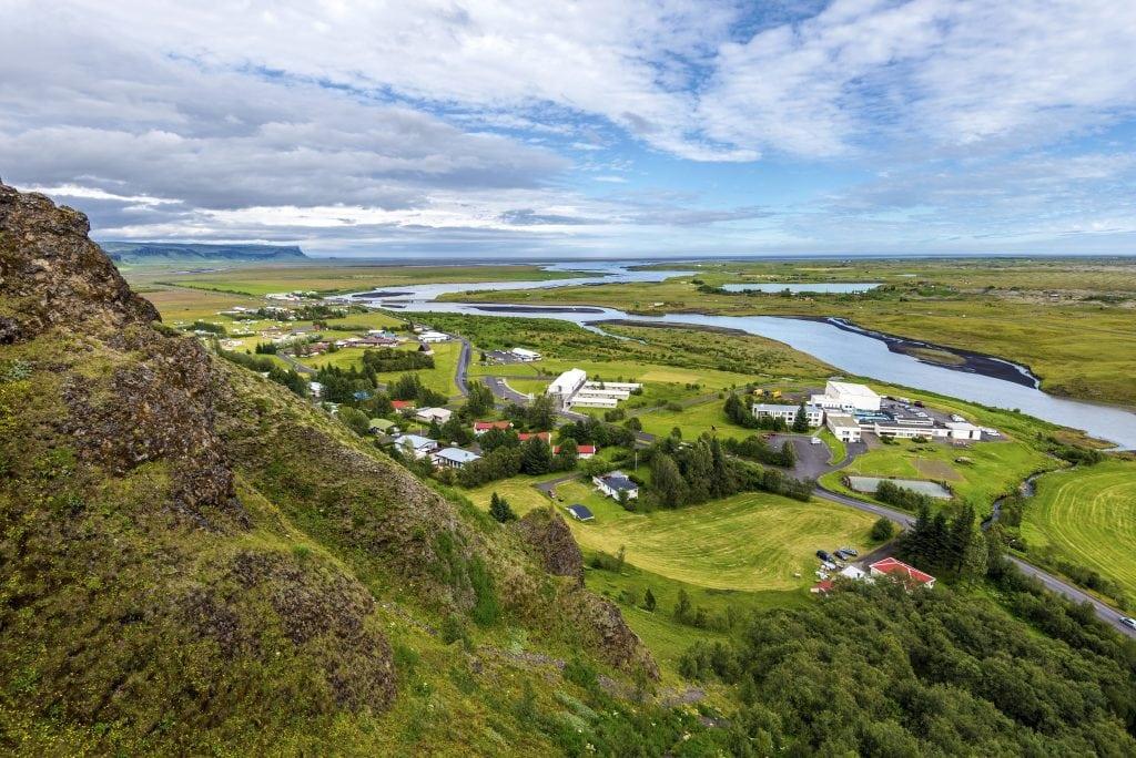 Dél Izland látnivalók - Kirkjubæjarklaustur