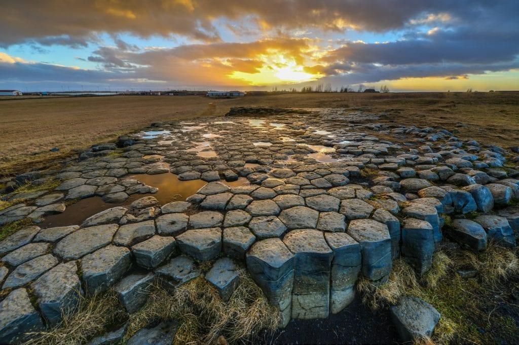 Dél Izland látnivalók - Kirkjugólf