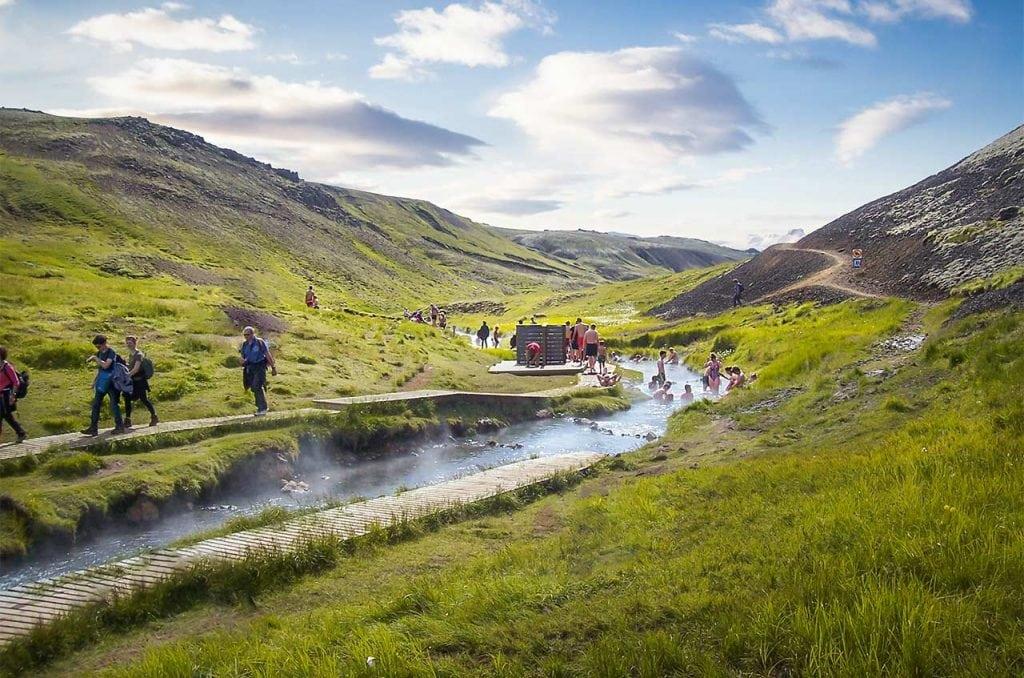 Dél Izland látnivalók - Reykjadalur