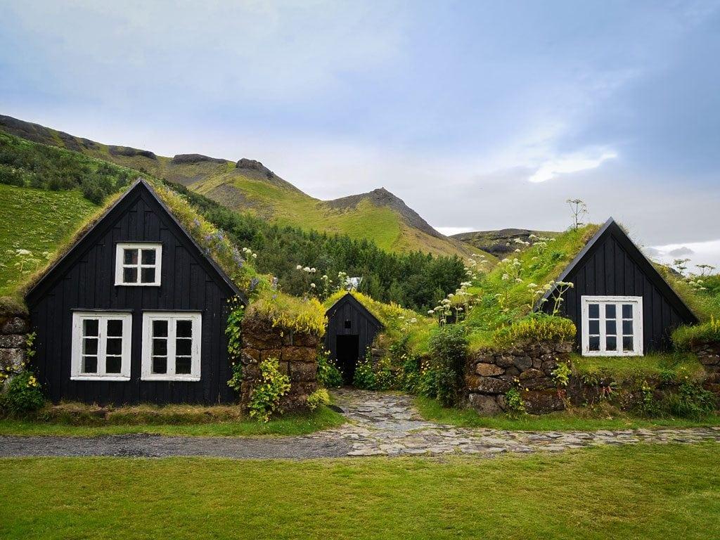 Dél Izland látnivalók - Skógar múzeum
