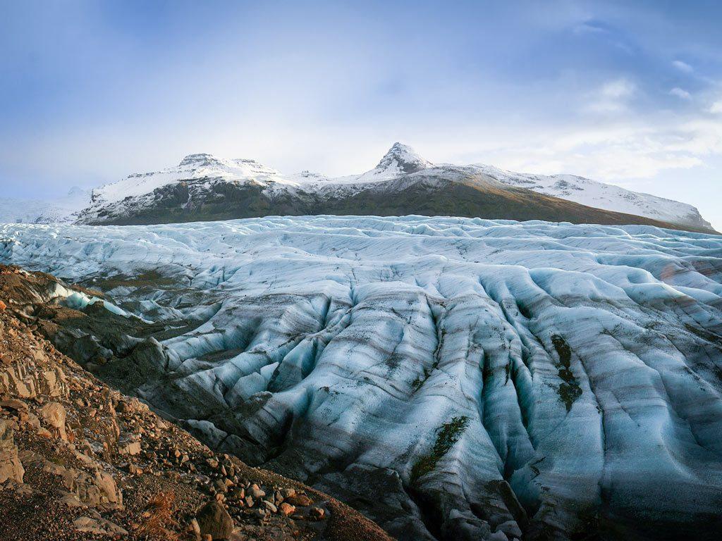 Dél Izland látnivalók - Svínafellsjökull