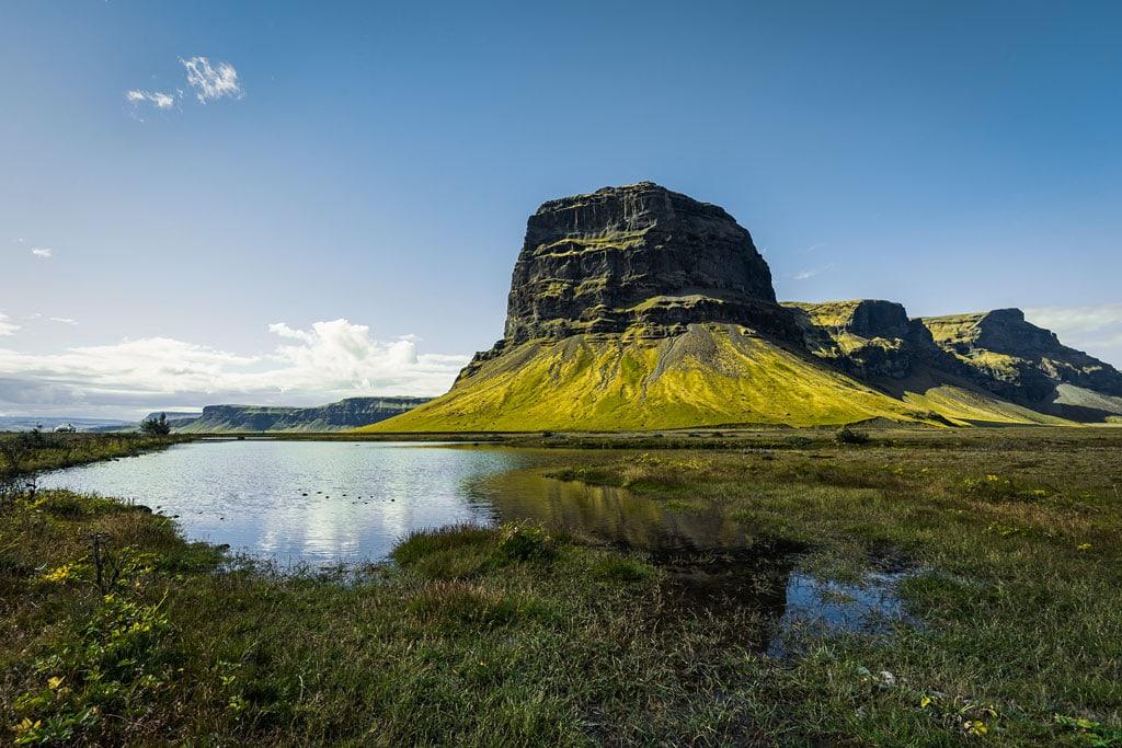 Lómagnúpur Dél-Izlandon