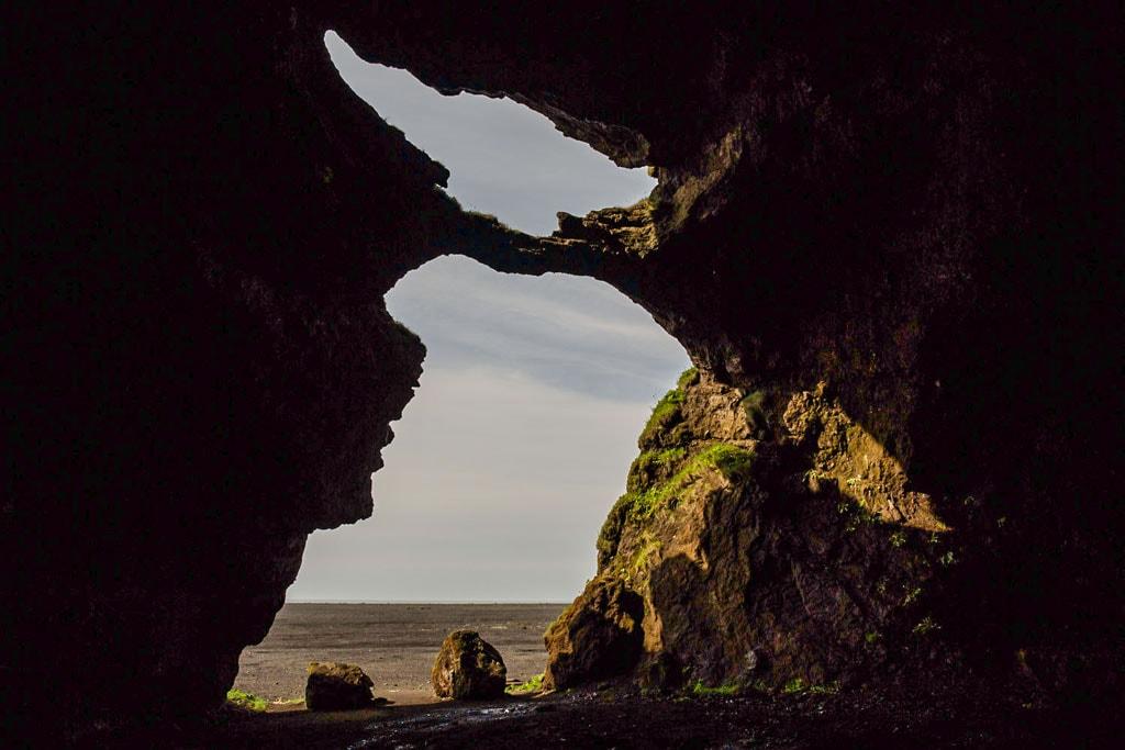 A kevésbé ismert Yoda barlang Dél-Izlandon