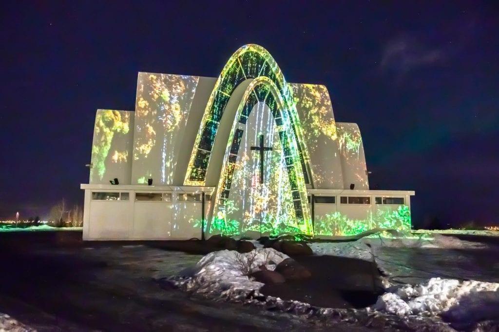 téli fények fesztivalja Reykjavík