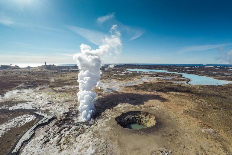 Izland vulkánkitörés - A Gunnuhver