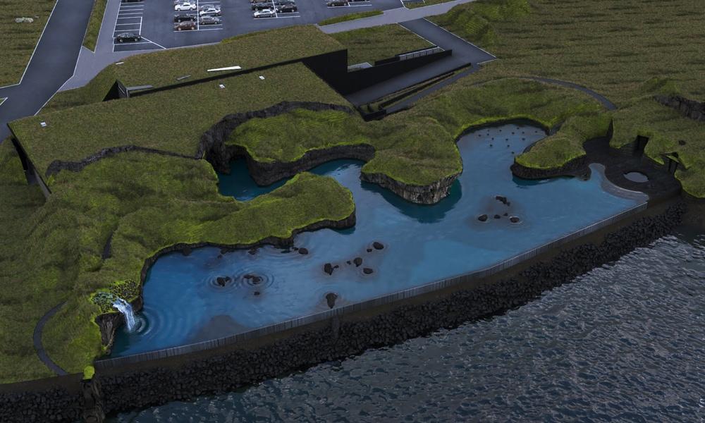 Sky Lagoon Izland