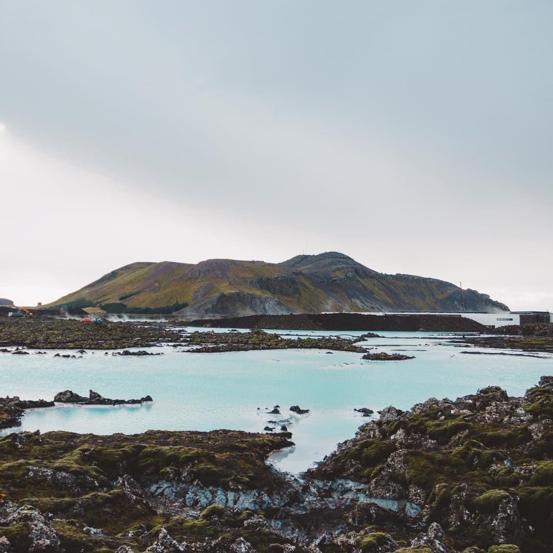 Thornbjörn vulkán Izland