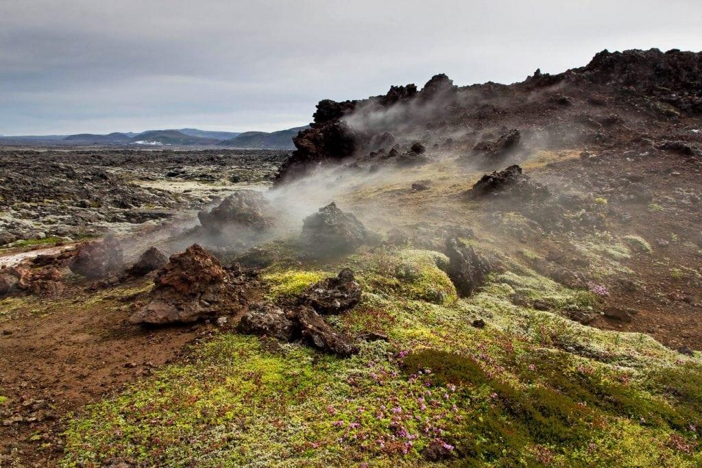 gázszivárgás Eldvörp barlangok
