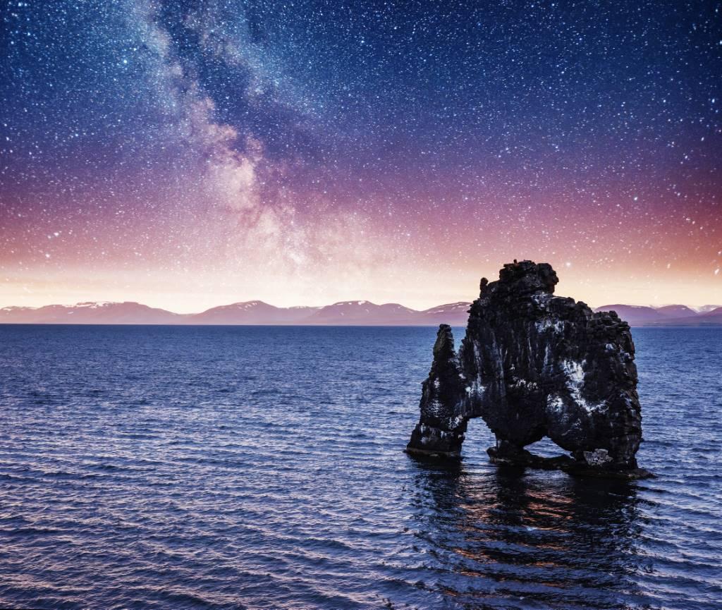 Hvítserkur Izland