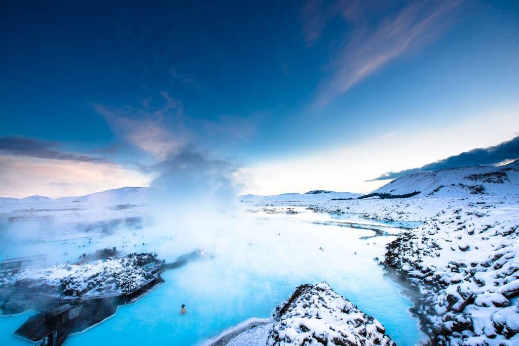 Izland Kék Lagúna