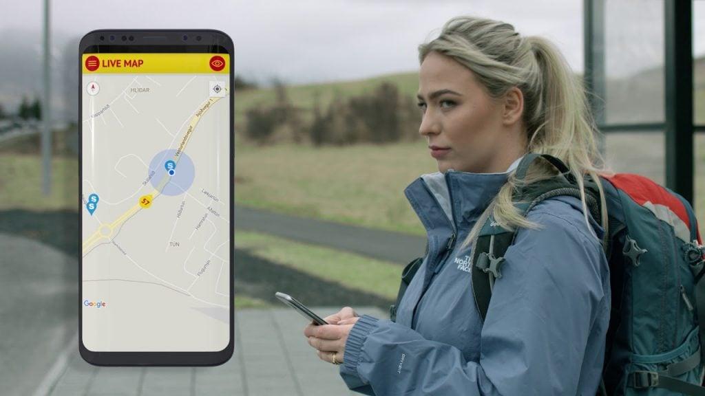 Reykjavíki tömegközlekedés applikáció