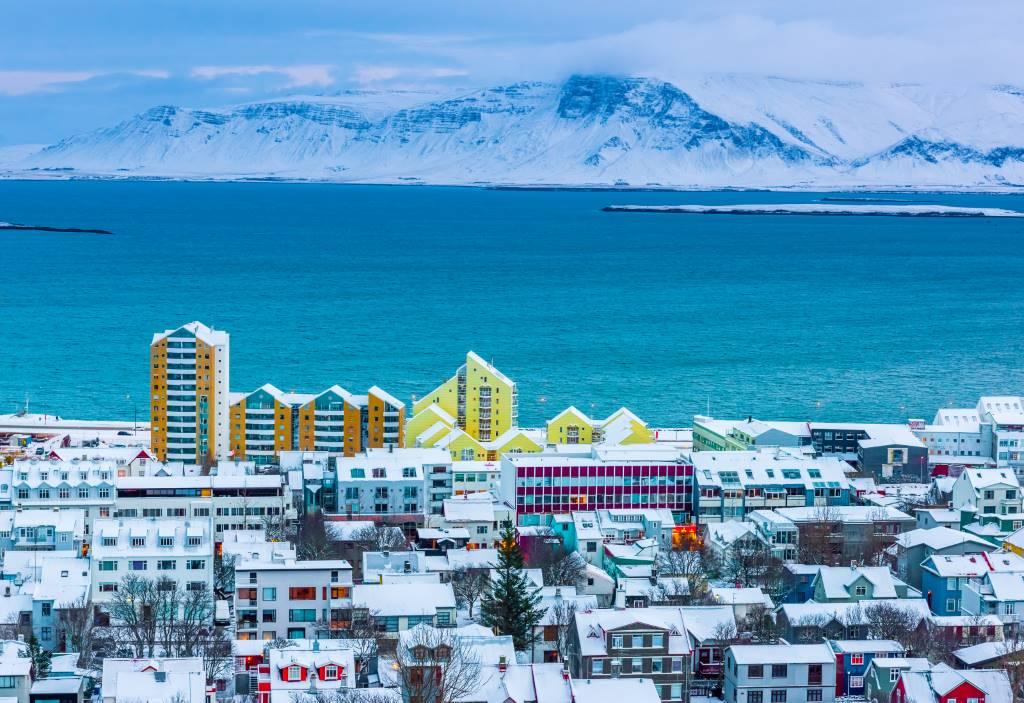 Koronavírus Izlandon - Reykjavíki látkép