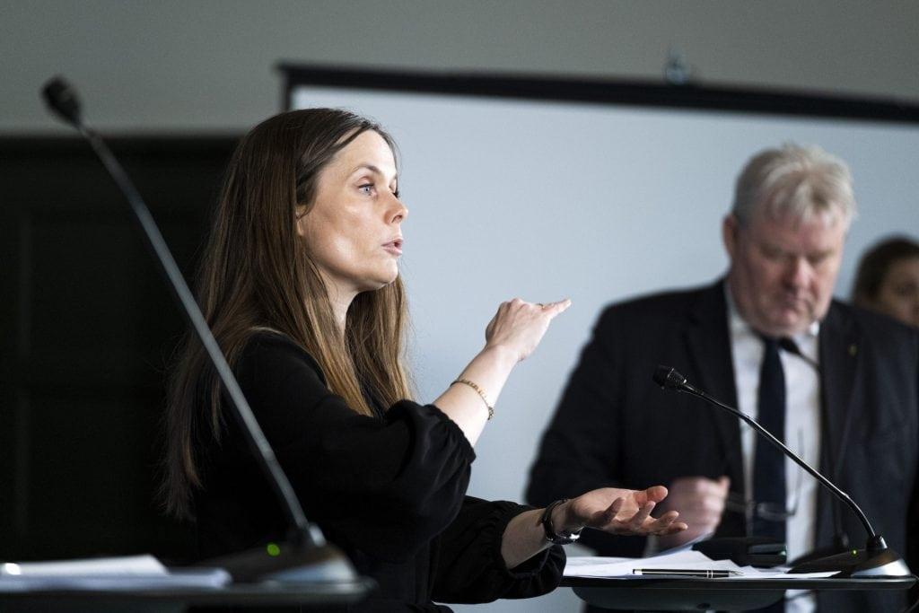 Izland koronavírus: Katrín Jakobsdóttir Izland miniszterelnöke