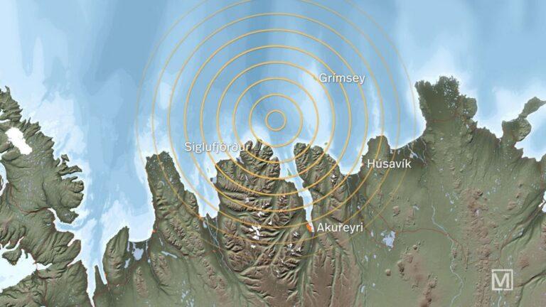 Földrengés Izland