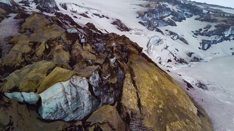 Izland gleccseráradás jökulhlaup