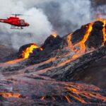 Kitört a vulkán Izlandon – Élő videók és fotógaléria