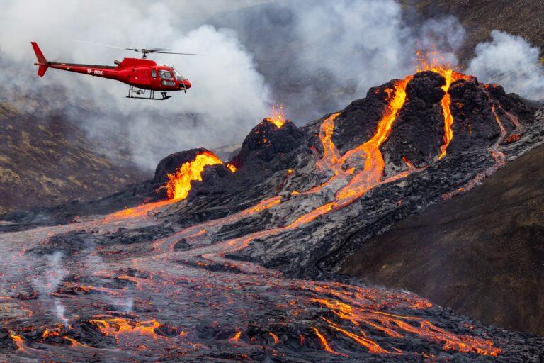Izland vulkánkitörés